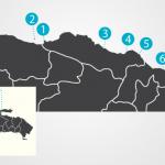 Map Northern | Dominican Republic | Bahia Principe Privilege Club