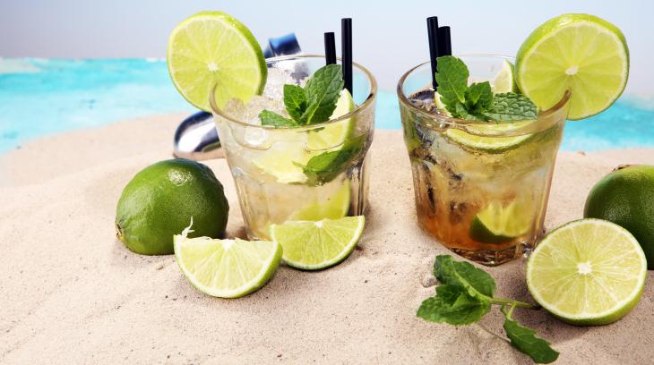 Lemon Based Cocktails. Limón.