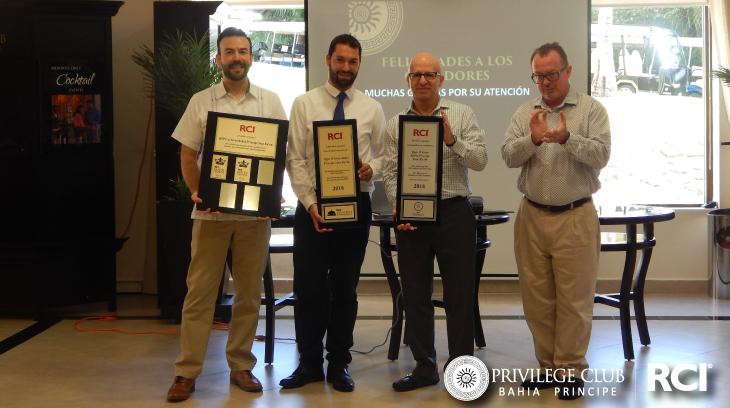 RCI Gold Crown Awards | Privilege Club