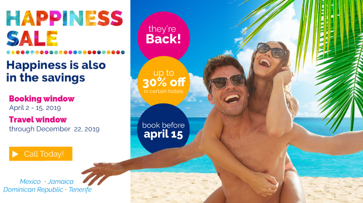 April Happiness Sale