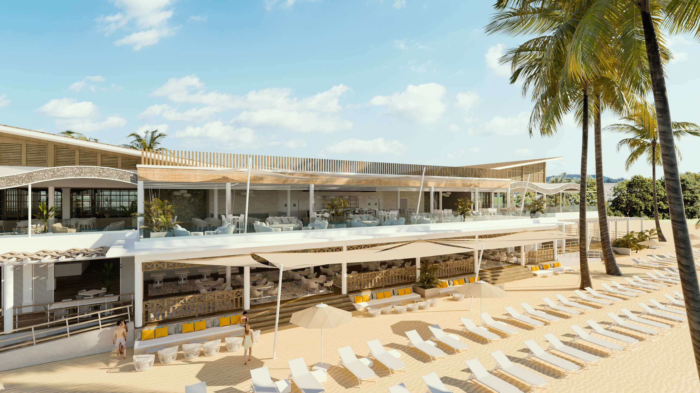New Beach Club in Punta Cana