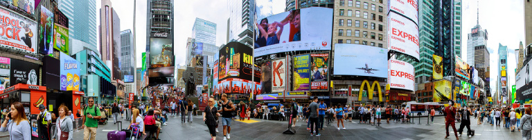 Time Square - 12 Interesting Travel Facts That Everyone Should Know
